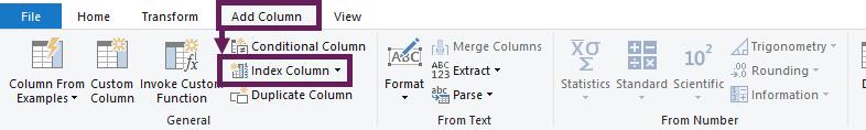 PQ Add Index Column