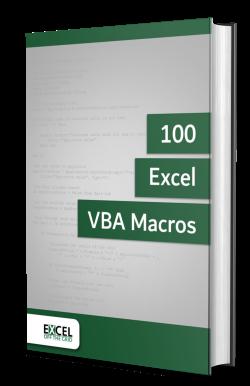 100 Excel Macros Book