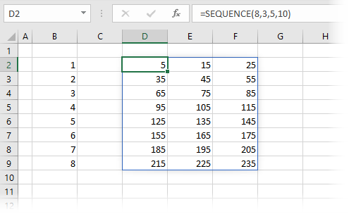 SEQUENCE Basic Usage 2