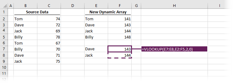 VLOOKUP with multiple scalars