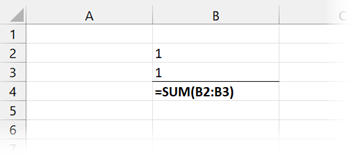 Formulas displayed means calculation not working